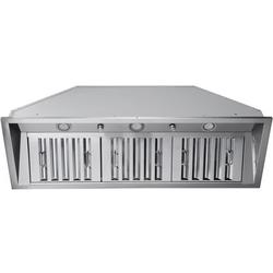 """Ancona 46"""" 600 CFM Ducted Insert Range Hood In Stainless SteelStainless Steel in Gray, Size 14.25 H x 45.8 W x 14.9 D in   Wayfair AN-1328"""