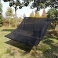 MoonQuake 70% Sunblock Shade Cloth Anti-Aging 6.5Ftx10ft Sun Mesh UV Resistant Net, Garden Shade Mesh Tarp For Plant Cover, Greenhouse in Black