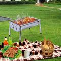 GuangMing Charcoal Grill Barbecue Portable Bbq, Size 15.9 H x 11.0 W x 8.8 D in   Wayfair WWG0395215