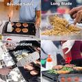TianRan Metal Spatula 11 Piece, Stainless Steel Griddle Grill Accessories Tools Kit For Flat Top Teppankiya Hibachi Cooking Camping | Wayfair