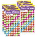 TREND enterprises, Inc. Trend Happy Smiles Superspots® Stickers, 800 Per Pack, 6 Packs, Size 0.42 H x 4.13 W x 8.0 D in   Wayfair T-46155-6