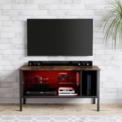 """Wade Logan® Mcmiller TV Stand for TVs up to 50"""" Wood in Black, Size 22.05 H x 44.09 W x 15.75 D in   Wayfair 111EFACDF395425BBA240AA4E0802A1A"""