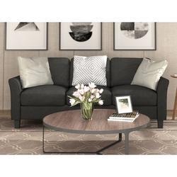Red Barrel Studio® Living Room Sets Furniture Armrest Sofa Single Chair Sofa Loveseat Chair 3-Seat Sofa (Chairloveseat Chair&3-Seat Sofa) in Black