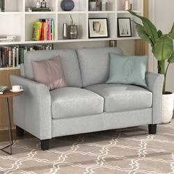 Red Barrel Studio® Living Room Sets Furniture Armrest Sofa Single Chair Sofa Loveseat Chair 3-Seat Sofa (Chairloveseat Chair&3-Seat Sofa in Brown