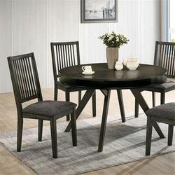 Red Barrel Studio® Kymberli Round TableWood in Brown/Gray, Size 29.88 H x 47.62 W x 47.62 D in   Wayfair CE78AFFB60EC4927BC0D598174175520