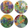 Alcott Hill® Texas Wildflowers Tabletop Art Drink Coaster Set Of Four Ceramic, Size 1.0 H x 4.25 D in | Wayfair 0214E82D638E4C92A7AEA150BCA9A9FE
