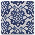 Alcott Hill® Shibori Stars Drink Coaster Set Decor Ceramic in Blue, Size 1.0 H x 4.25 D in | Wayfair 21D83703ADA44D59A0693F2525F8FF91