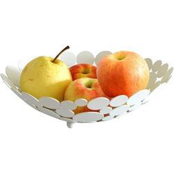 Prep & Savour Metal Fruit Basket Bowl, Creative Countertop Modern Fruit Bowl Kitchen Table Household Storage Fruit Holder Stand For Vegetable, Bread