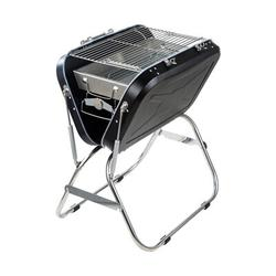 Hmlinktt Charcoal Portable Grill w/ Bbq Suitcase, Foldable Outdoor Grill Household Stainless Steel Bbq Grill, Charcoal Grill w/ Foldable Grill Tray