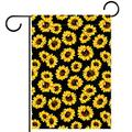 FunHOMEs Sunflower Garden Flag Vertical Double Sized 28x40 Inch Holiday Decorative House Flags Yard Flag Garden Banner Front Porch Decor Outdoor Indoor Decorations for Farmhouse