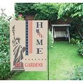Garden Flags 12 x 18 Inches Independence Day Bell Gardens California - Patriotic Garden Flag, 4th of July, USA Flag, Decorative Welcome House Flag Banners Double Sided for Garden, Home Decor