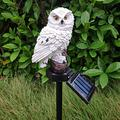 Solar Owl Shape Lights, Waterproof Solar LED Lights, LED Owl Pathway Lights, Landscape Lights LED, LED Solar Garden Light Owl Lawn Lamp, Garden Ornaments Outdoor