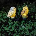 2pcs Solar Owl Shape Lights, Owl Light LED Solar Garden Light Owl Lawn Lamp, Solar Garden Lights Outdoor, Waterproof Landscape Lights LED for Lawn Patio Backyard Party Decorations
