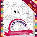 Cute Animals Coloring Book for Kids ages 4-8: Fun Coloring book to Color Farm and Wild Animals, 72 pages, Paperback 8.5*8.5 inches