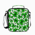 Insulated Lunch Bag St Patricks Day Clover For Women Men Reusable Cooler Lunch Box Freezable Thermal Leak-proof Tote Container Bag for Office Work School Picnic Hiking Lunch Tote