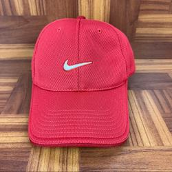 Nike Accessories | Nike Adult Unisex Golf Hat Dri-Fit Cap Hat Red | Color: Red | Size: Os