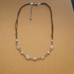 American Eagle Outfitters Jewelry   American Eagle Necklace   Color: Pink/Silver   Size: Os