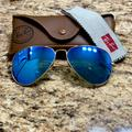 Ray-Ban Accessories | Ray Ban Polarized Sunglasses | Color: Blue | Size: Standard