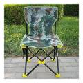 MTDWEITOO Portable Camping and Sports Chair Portable Untuk Memancing Outdoor Camping Folding Stool Fishing Chair Beach Portable Folding Backpack Beach Lounge Chair (Color : Kamuflase)