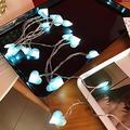 Led Love Heart Wedding String Fairy Light Christmas Pink Girl Romantic LED Light String Indoor Party Garden Garland Lighting 3M