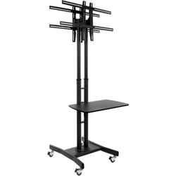 """Double Sided TV Stand Mounts (2) 32"""" to 65"""" Screens"""