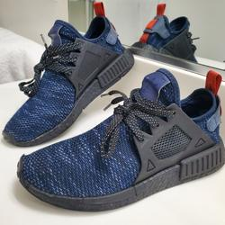 Adidas Shoes   Adidas Nmd Xr1 Jd Sports Core   Color: Black/Blue   Size: 8.5