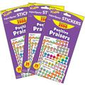 TREND enterprises, Inc. Trend Positive Praisers Superspots® Stickers Variety Pack, 2500 Per Pack, 3 Packs, Size 0.57 H x 4.13 W x 8.0 D in   Wayfair