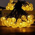 50LED Solar String Light, Garden Decor Solar LED Birthday Party Supplies, 7.5M Hanging Decorative Romantic Patio Lights for Yard Garden Home Party