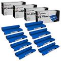 LD Compatible Thermal Ribbon Refill Roll Replacements for Brother PC402 (8-Pack)