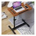 Outdoor side table, small sofa, coffee table Portable Computer Desk Adjustable Height Laptop Table, Mobile Computer Stand Desk Portable Side Table for Bed Sofa, Mobile Lap Table for Living Room, Bedro