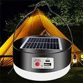 Multi-functional Camping Light, Camping Lights USB Rechargeable, 45 LED Camping Tent Light Solar Powered Outdoor Portable Ultra Lamp, LED Camping Lantern 3 Modes, for Outdoor Camping Hiking Tents Emer