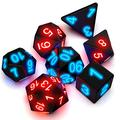 MALLdor Dice Set Light for DND Dungeons and Dragons Role Playing Games, Electronic Dice D20 Glow in the Dark Magic- Trick Pixels MTG Table Games for Bar Pub Club Party