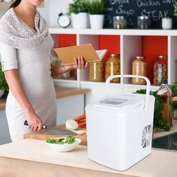 SUNNOW Ice Maker Machine,Compact&Lightweight Ice Maker w/ Ice Scoop in White, Size 12.0 H x 9.0 W x 12.0 D in | Wayfair I88200224203_A00192BBB3