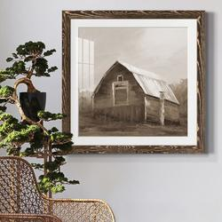 August Grove® RED BARN VI Red Barn VI - Picture Frame PrintPaper in Brown, Size 20.0 H x 20.0 W x 1.0 D in   Wayfair