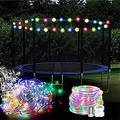 LED Rope Lights Outdoor String Lights Battery Powered with Remote Control, 8 Modes Color Changing Waterproof LED Strip Lights Fairy Lights 32.8 Ft for Christmas Party Decoration,100 leds,32.8 ft