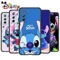 Stitch cute cartoon for Samsung Galaxy S21 Ultra Plus Note 20 10 9 8 S10 S9 S8 S7 S6 Edge Plus