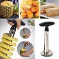 Éplucheur d'ananas en acier inoxydable, pour couteau de cuisine, Machine à découper en spirale pour
