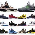 Baskets de Sport pour garçons, chaussures de basket-ball 4 Thunder Pure Money made Cool, gris et