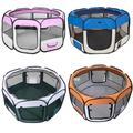 Enclos pour animaux domestiques, tente octogonale pour chien, Cage pour chat, parc pour chiot, niche