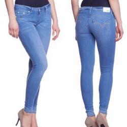 Levi's Jeans   Levi'S Super Skinny Fit Denim Jeggings Jeans Sz 28   Color: Blue   Size: 28