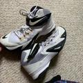 Nike Shoes | Nike Lebron James Soldier 8 Basketball Shoes | Color: Black/White | Size: 8.5