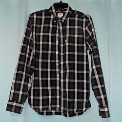 Levi's Shirts | Levis San Francisco, Cal. Shirt M | Color: Black/Brown | Size: M