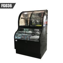 Cooler Depot Open Air Display Refrigerator Merchandiser Case in Black, Size 58.0 H x 35.0 W x 31.0 D in   Wayfair FGO36