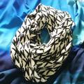 Michael Kors Accessories | Michael Kors Scarf | Color: Black/White | Size: Os