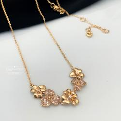 Kate Spade Jewelry | Kate Spade Necklace Gold Flower Necklace | Color: Gold | Size: Os