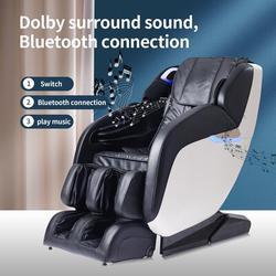 Inbox Zero Sliding Zero Gravity Massage Chair Full Body Zero Gravity Shiatsu Massage Recliner w/ Bluetooth Speaker Auto Body Scan Rocking Chair