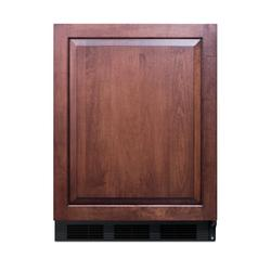 "Summit AR5B 24"" Wide Built-In All-Refrigerator ADA Compliant Panel Ready"