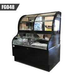 Cooler Depot Open Air Display Refrigerator Merchandiser Case in Black, Size 59.0 H x 47.0 W x 31.0 D in | Wayfair FGO48