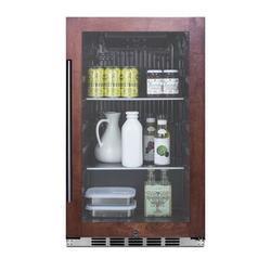 Summit Appliance 110 Cans (12 oz.) Outdoor Rated Freestanding Beverage Refrigerator, Size 33.88 H x 19.0 W x 17.75 D in   Wayfair SPR488BOSCSSPNR