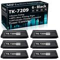 Compatible 6 Black TK-7209 (1T02NL0CS0) Ink Cartridge Replacement for Kyocera/Copystar CS-3510i Printer Cartridges,Sold by TopInk